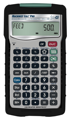Machinist Calc Pro International